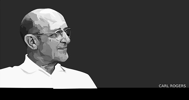 The picture of Carl Rogers is by Victor Borges. It was sourced from openclipart.org and has been reproduced by the artist into the public domain.