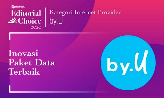 Rekomendasi Pricebook kategori Inovasi Paket Data Terbaik adalah by.U