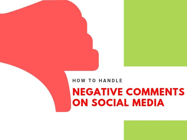 Negative Comments Social Media