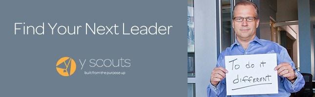 Find Your Next Leader invitation