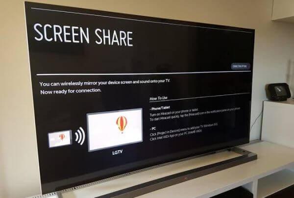 LG Screen Share app