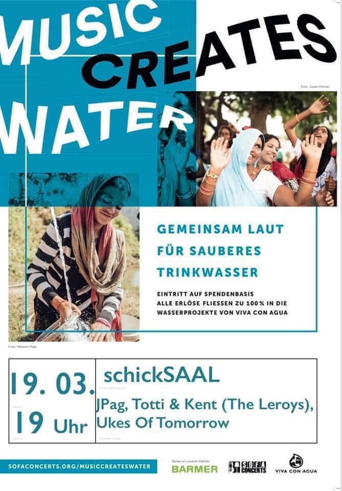 !!!ABGESAGT!!! Weltwassertag 2020 - Sofaconcert im SchickSAAL 1
