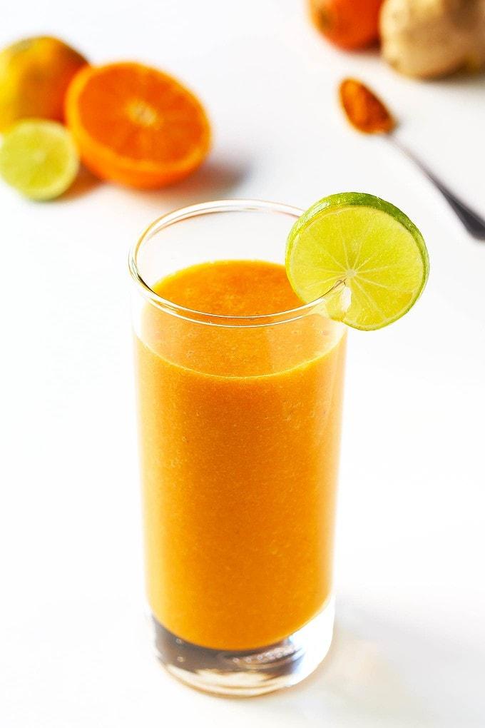 Immune Boosting Carrot Citrus Smoothie