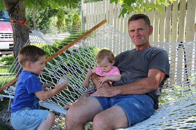 Olivia with Family in Kelowna
