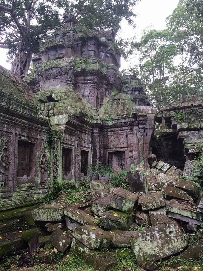 Ruined Building in Cambodia