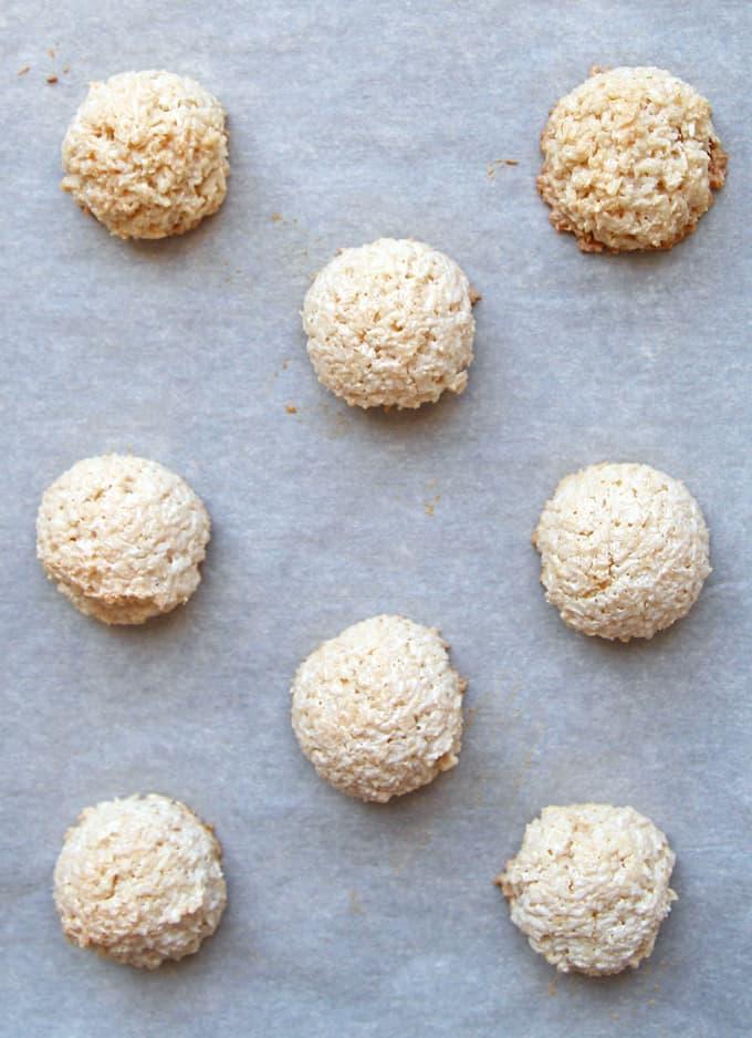 Macaron Cloud Cookies Cookie Tray Separated Meringue