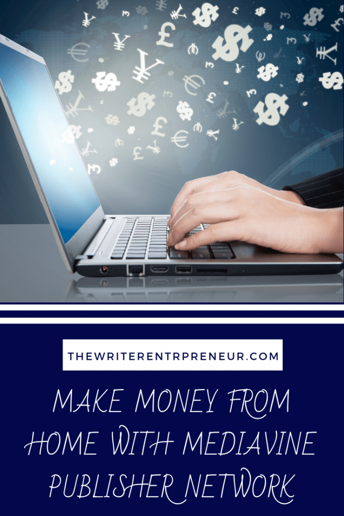 Make money from home with the Mediavine Publisher Network
