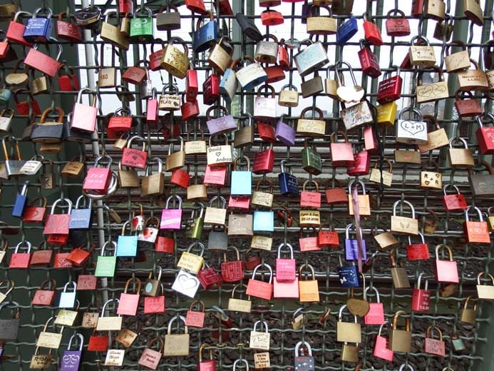 Cologne City Guide things to do love locks