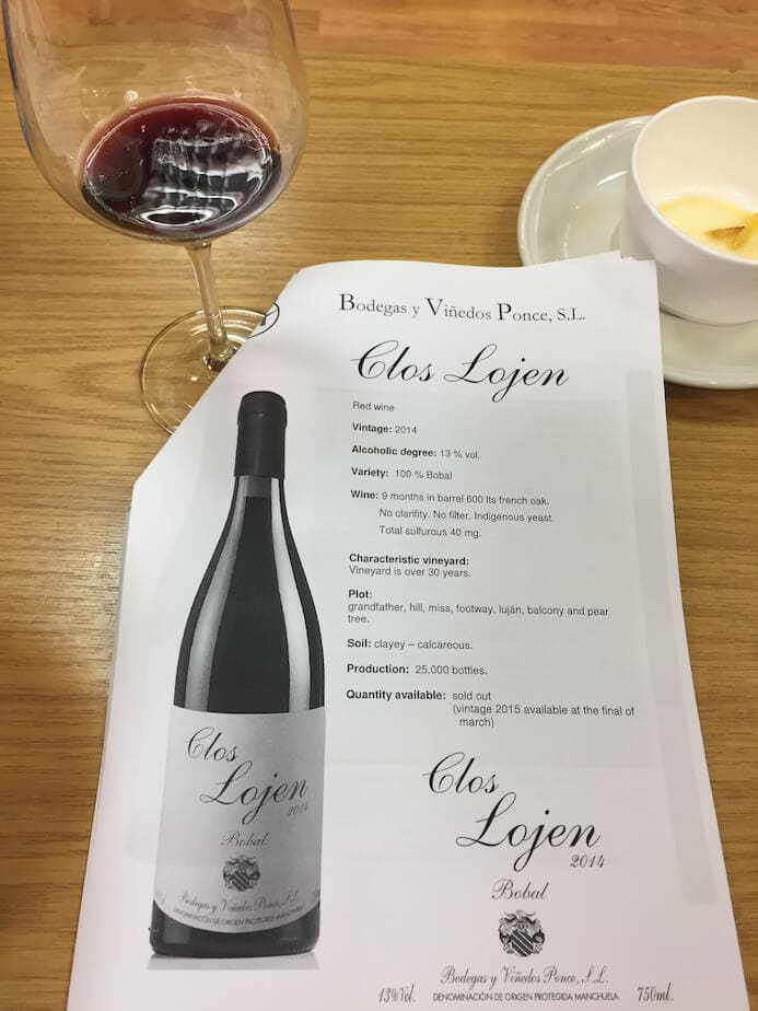 Spanish food and wine pairing workshop