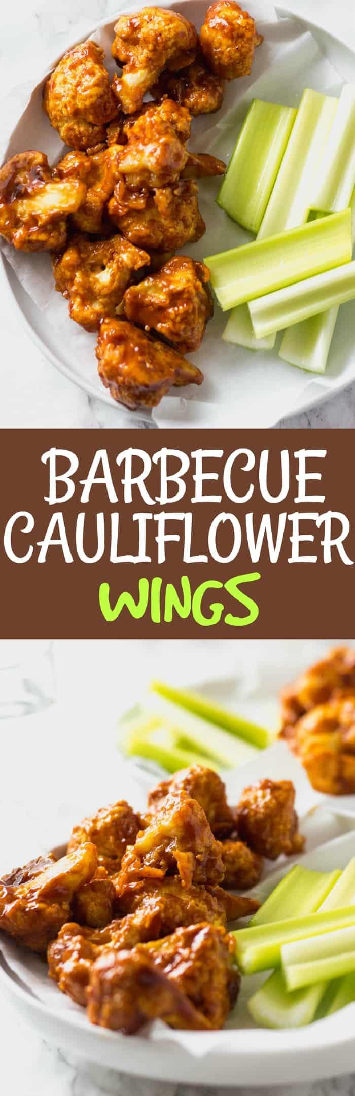 Barbecue Cauliflower Wings Pin