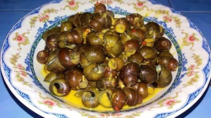 Kuliner Khas Bandung: Keong tutut