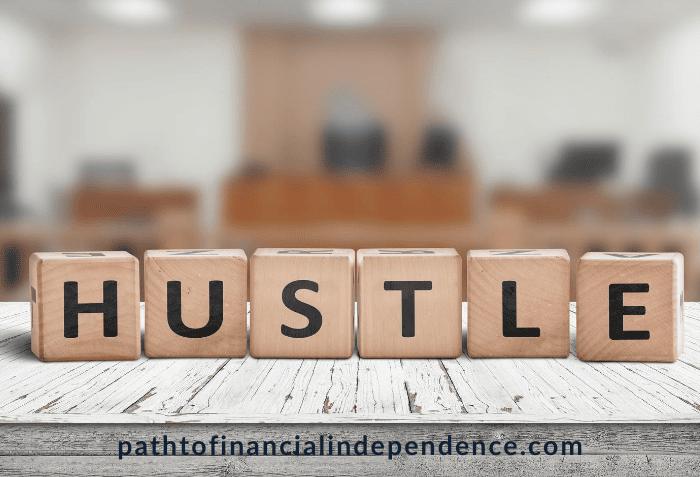 hustle, achieve, earn