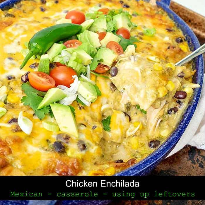 chicken enchilada, gluten free