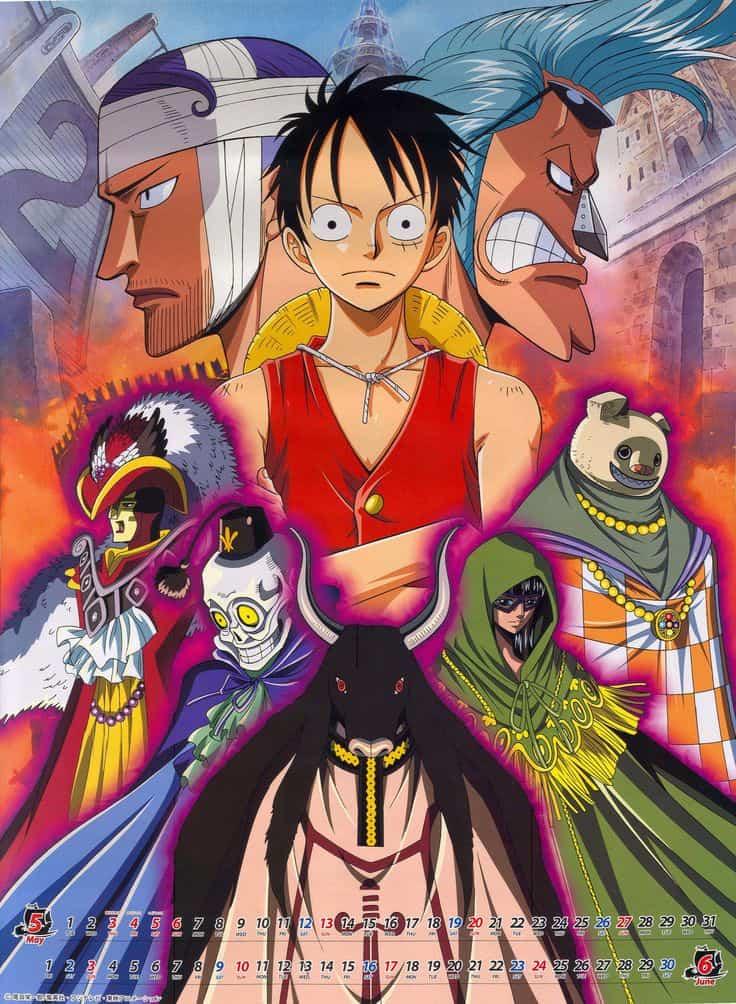 One Piece วันพีซ ภาค 8 วอเตอร์ เซเว่น