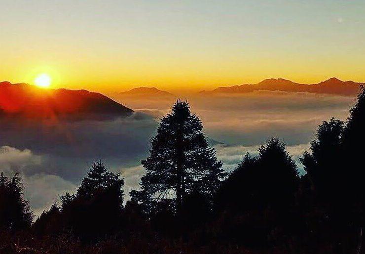 Sunrise Sunset Tour in Nepal