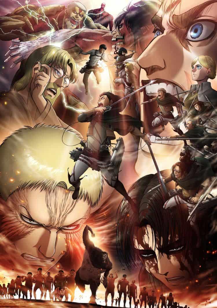 Attack on Titan Season 3 ผ่าพิภพไททัน ภาค3