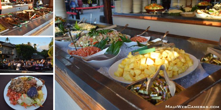 Royal Lahaina Luau Buffet
