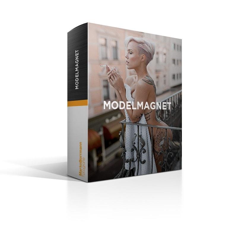 Modelmagnet, Retuschevideo, Bildberabeitung, videokurs, Umgang Model, modelle finden, videokurs