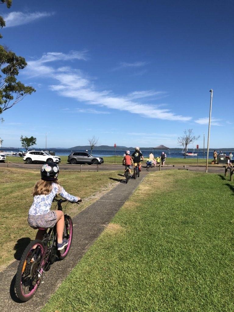 Family Bike Rides Nelson Bay