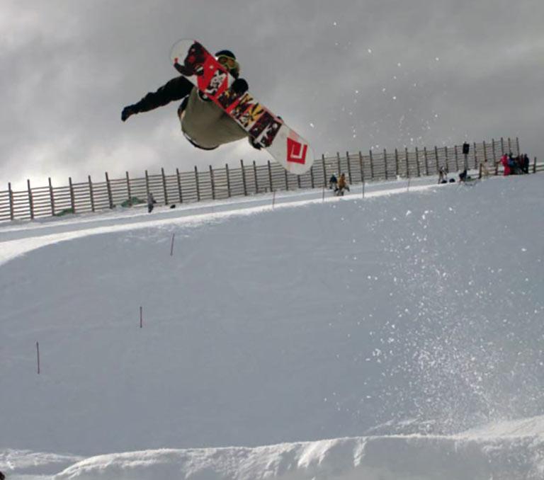 Snowsports photographer Burton Open New Zealand