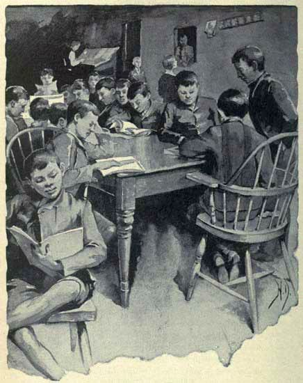 """Illustration from """"Children of the Poor"""" Jacob Riis 1908, 1892. Solurced from Wikimedia Commons and said to be in the public domain."""