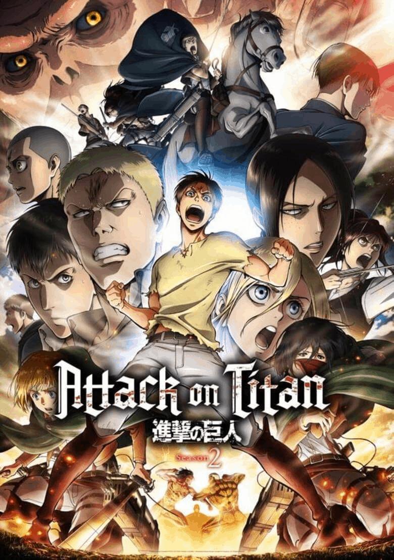 Attack on Titan Season 2 ผ่าพิภพไททัน ภาค2