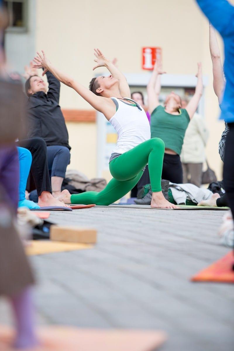 Yoga Flashmob, Fotograf Freiberg, Businessfotografie-13