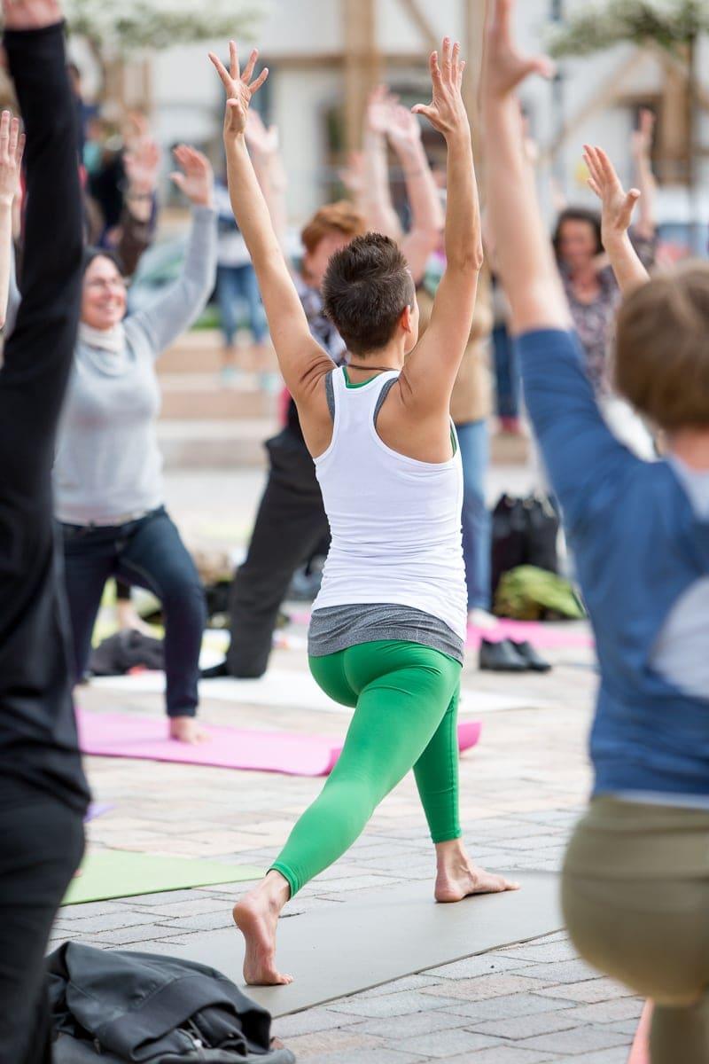 Yoga Flashmob, Fotograf Freiberg, Businessfotografie-8