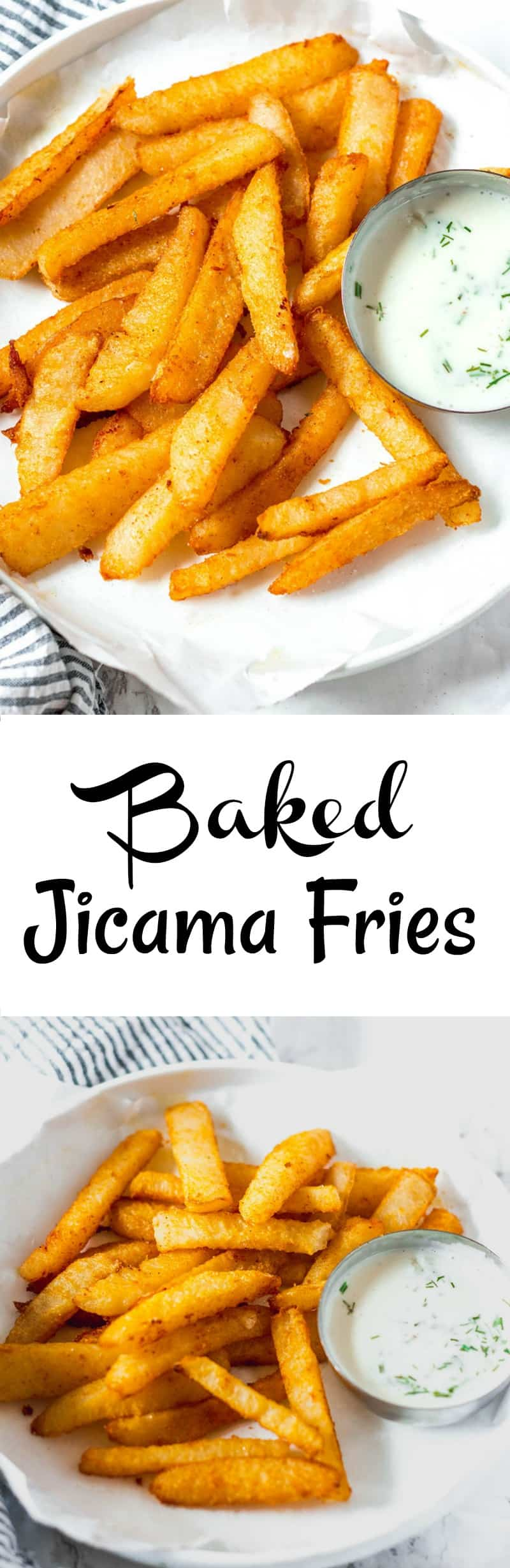Baked Jicama