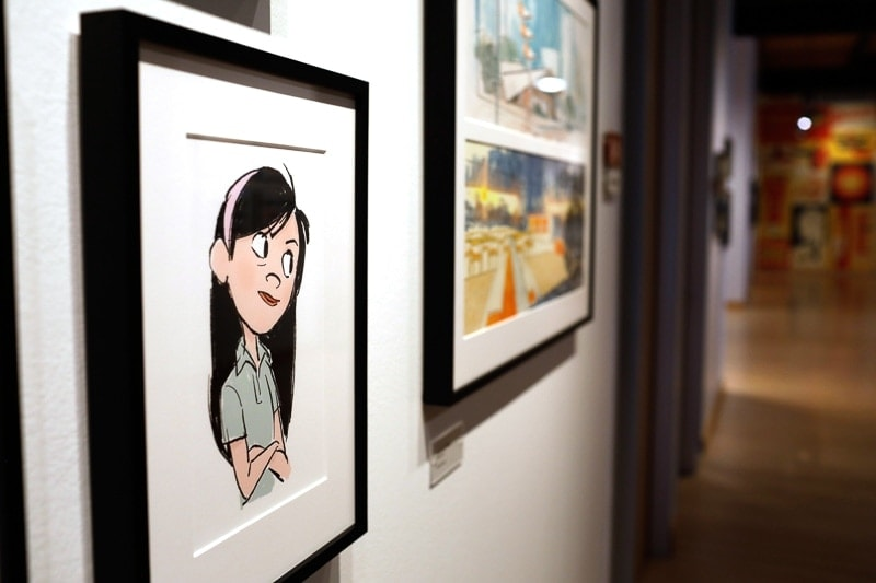 The Incredibles 2 art gallery,