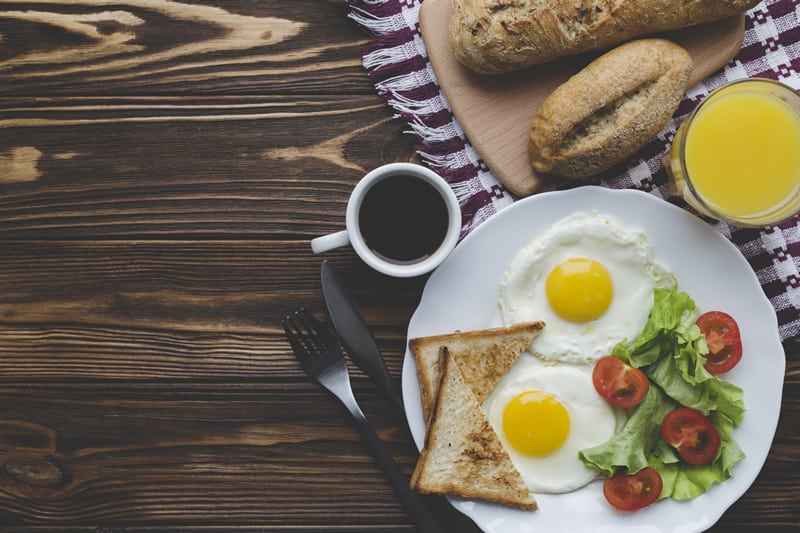 Breakfast to lose weight