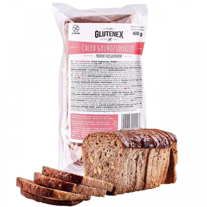 Chleb bezglutenowy gruboziarnisty
