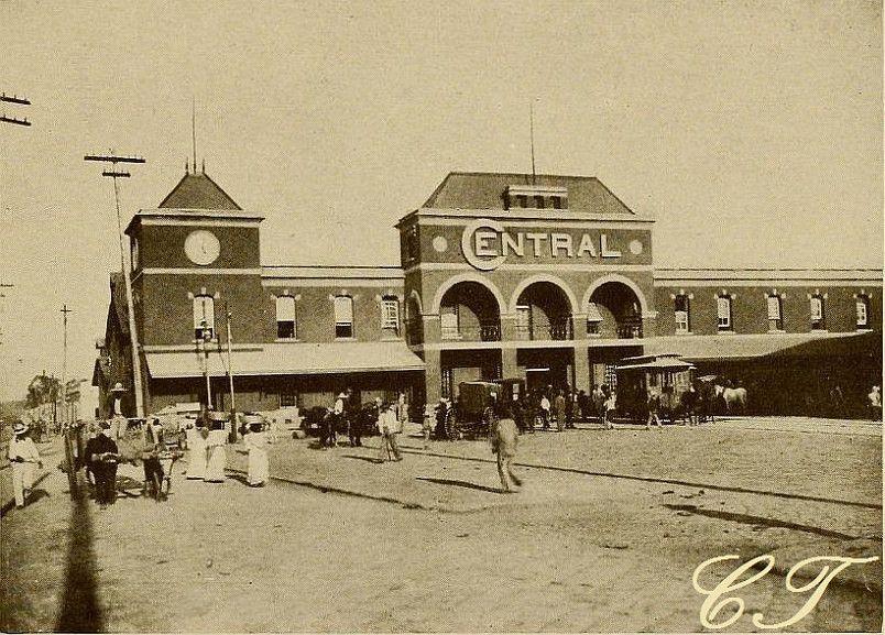 Estación Central del Ferrocarril de Guatemala