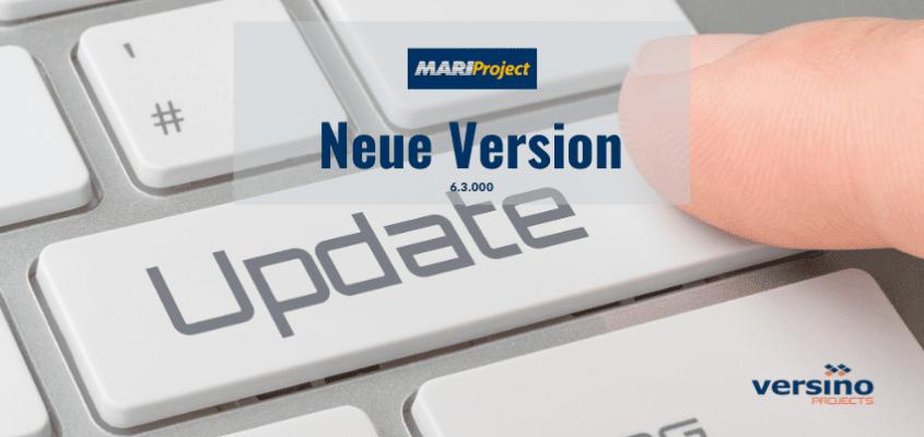 Neue Version MariProject 6.3.0001