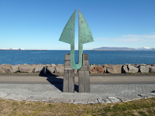 Picture: Partnership sculpture, Reykjavik. Reproduced under a Creative Commons Attribution 2.0 Generic (CC BY 2.0) licence and sourced from Flickr.