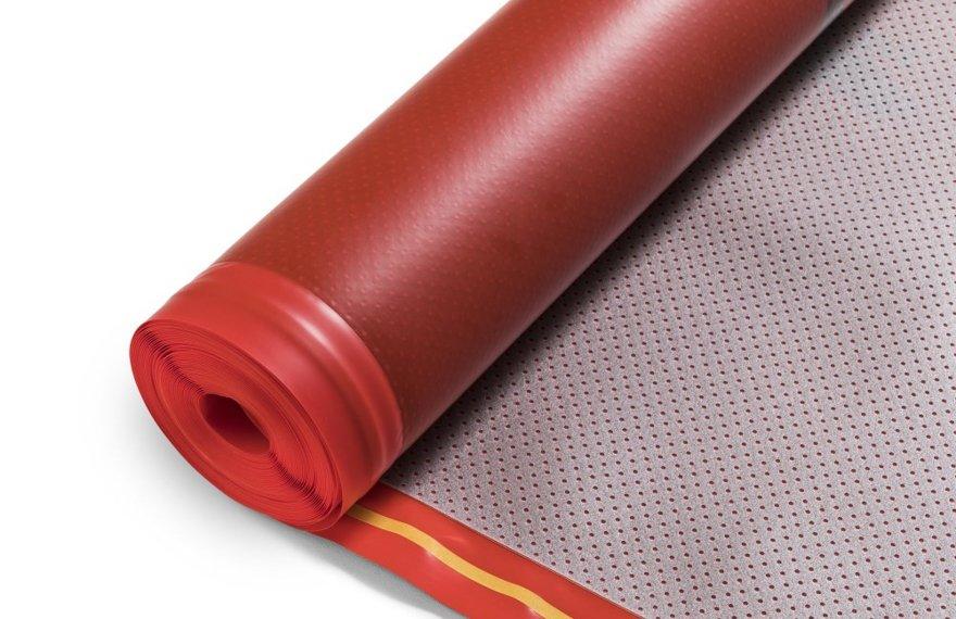 Isoheat ondervloer voor houten vloer