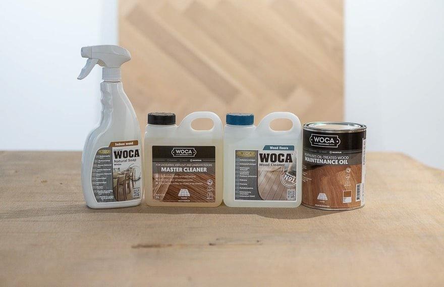 Woca onderhouden houten vloer
