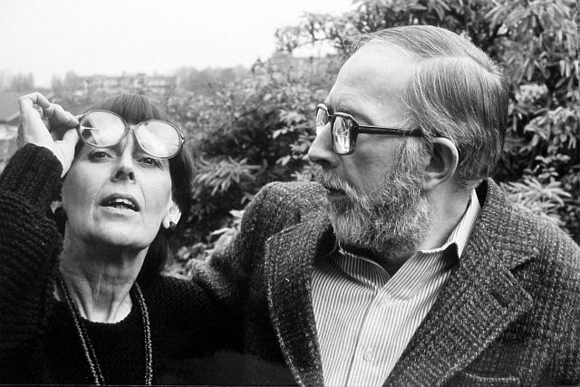 Picture: Phyllis Willmott and Peter Willmott circa 1969 - all rights reserved