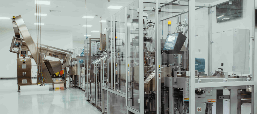 fully automated packaging line