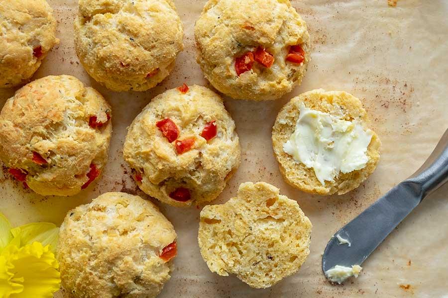 gluten free savoury scones