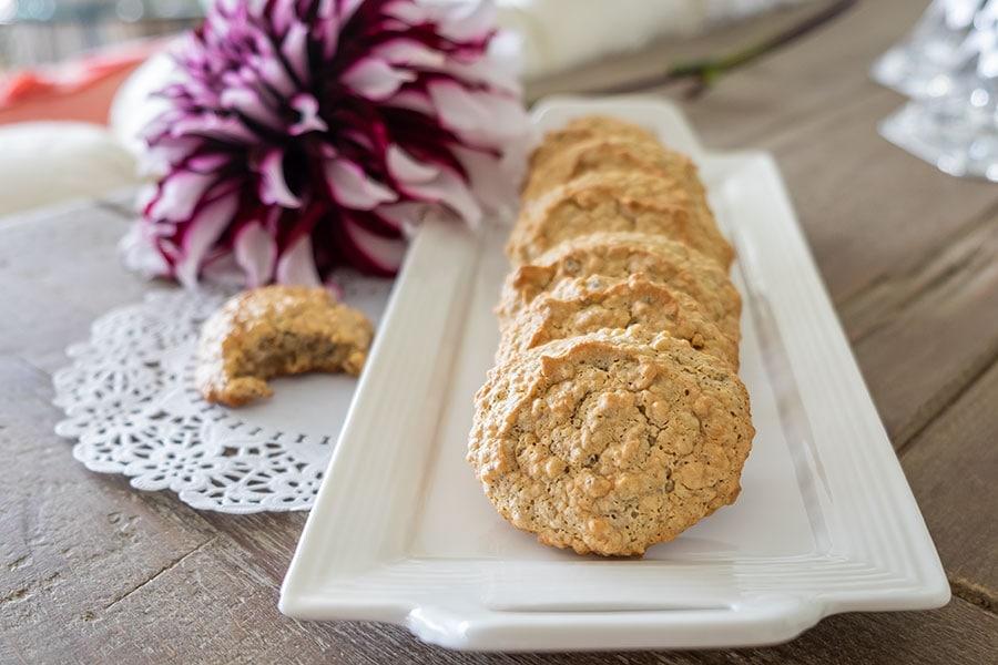 walnut cookie, keto