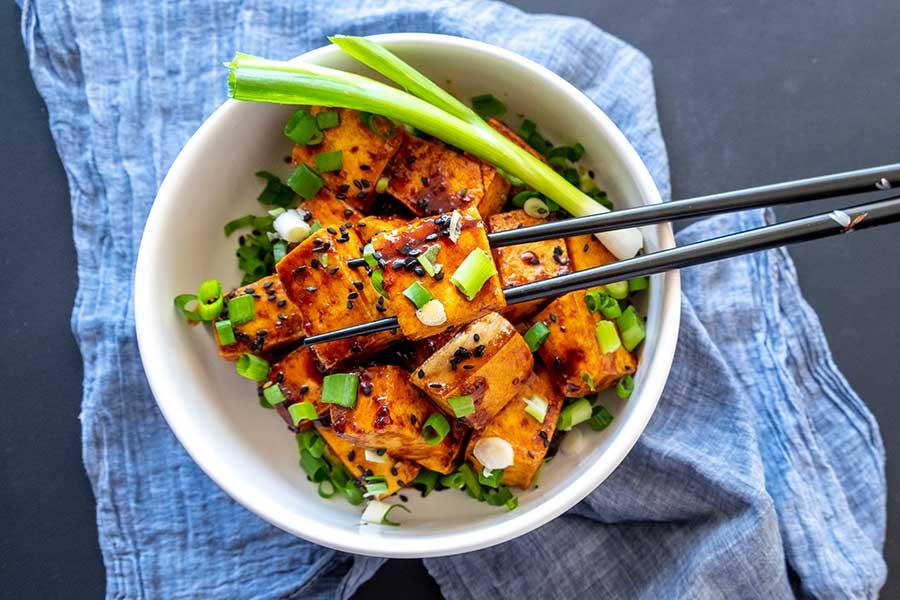 tofu, ginger