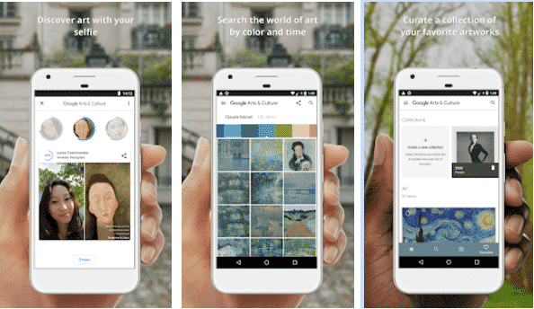 Google Arts and Culture-best student study apps,