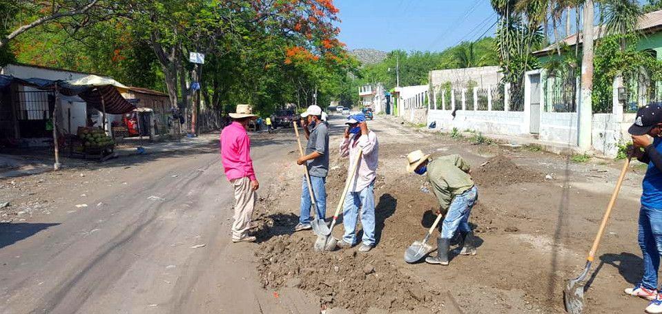 Efectos de la lluvia en San Agustín Acasaguastlán