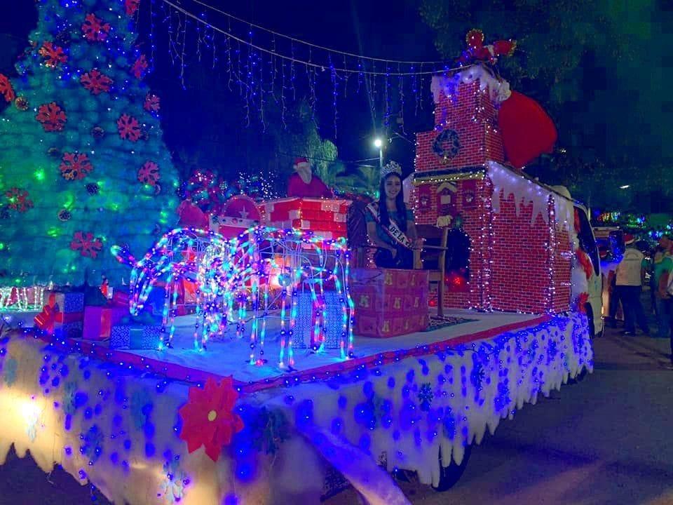Carroza Desfile Navidad Guastatoya