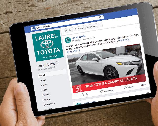 Laurel Auto Group Facebook Ads