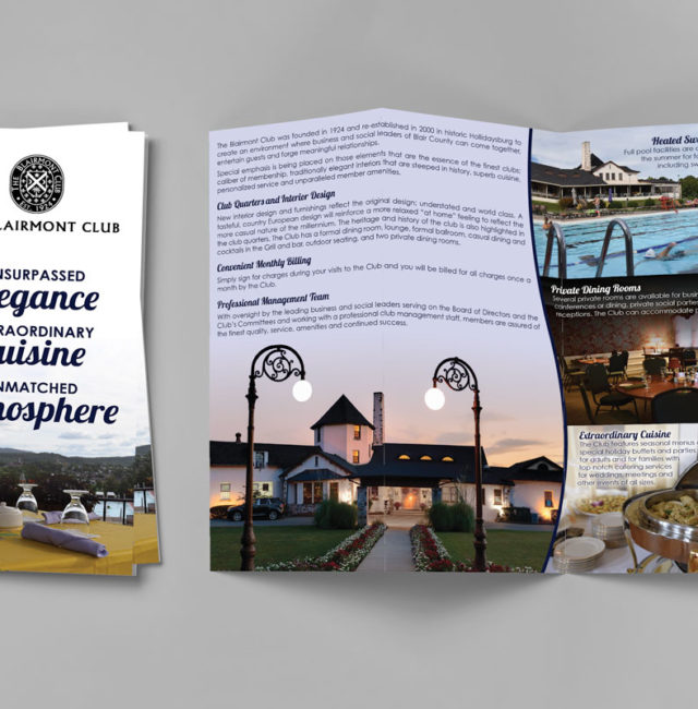 Blairmont Club Brochure