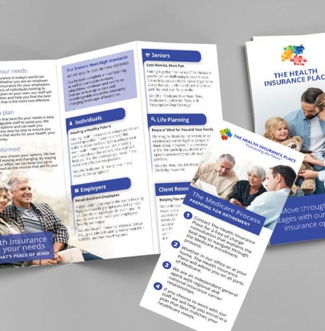 The Health Insurance Place Brochure & Rack Card