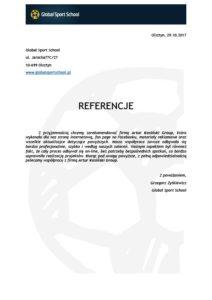 referencje Artur Kosiński 4