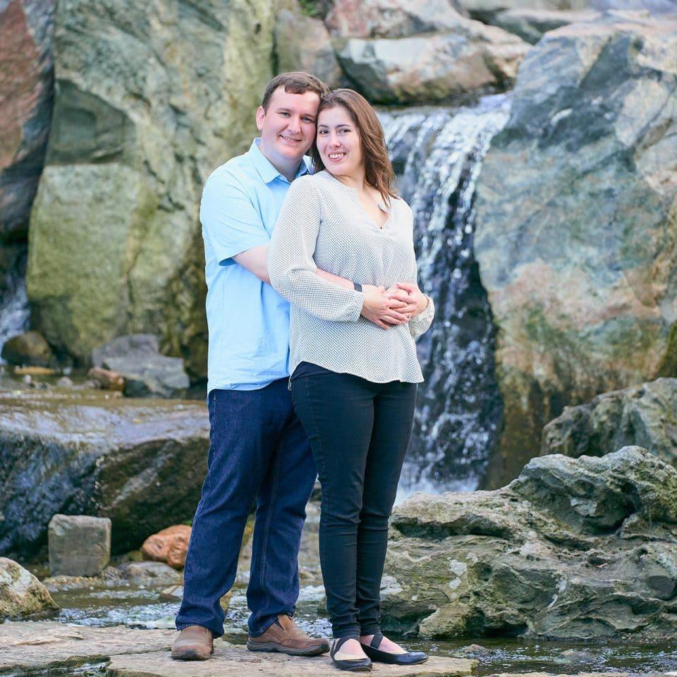 Chicago Engagement Photographer   Sandra Fernandez and Billy Morgan Engagement Shoot - Garden of the Phoenix